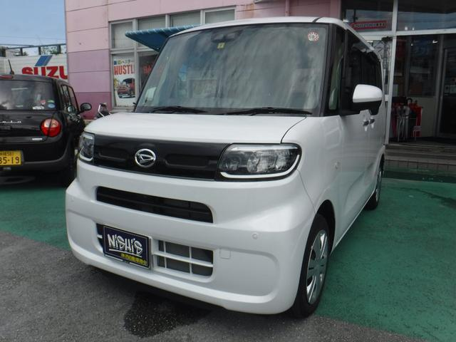 沖縄県沖縄市の中古車ならタント X スマアシIII純正9型フルセグTV&ナビパノラマビュー