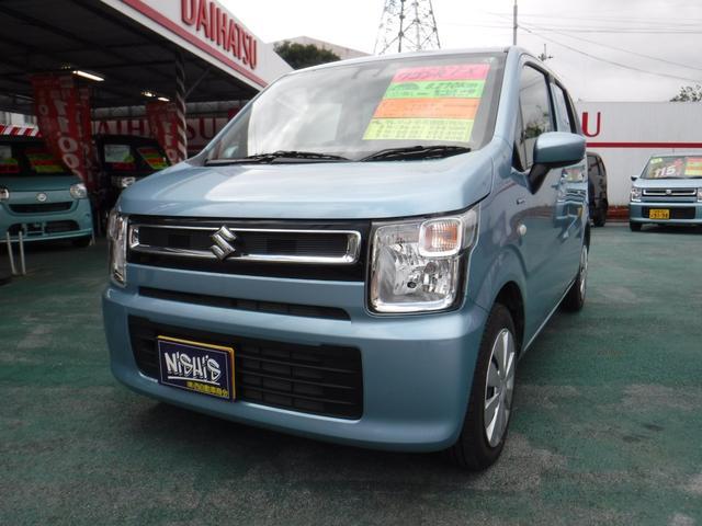 沖縄県沖縄市の中古車ならワゴンR ハイブリッドFX セーフティーサポート(被害軽減ブレーキ)装着車/