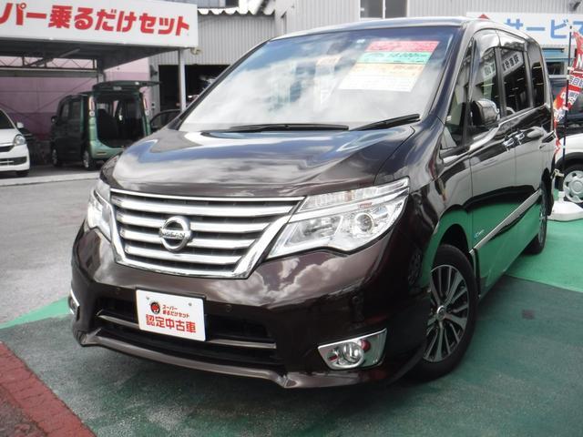 沖縄の中古車 日産 セレナ 車両価格 179万円 リ済込 2016(平成28)年 5.8万km ブラウンM