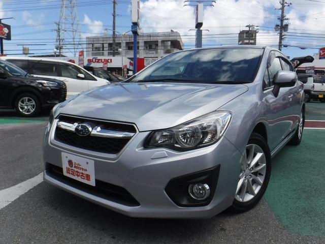 沖縄の中古車 スバル インプレッサスポーツ 車両価格 89万円 リ済込 2012(平成24)年 3.4万km シルバー