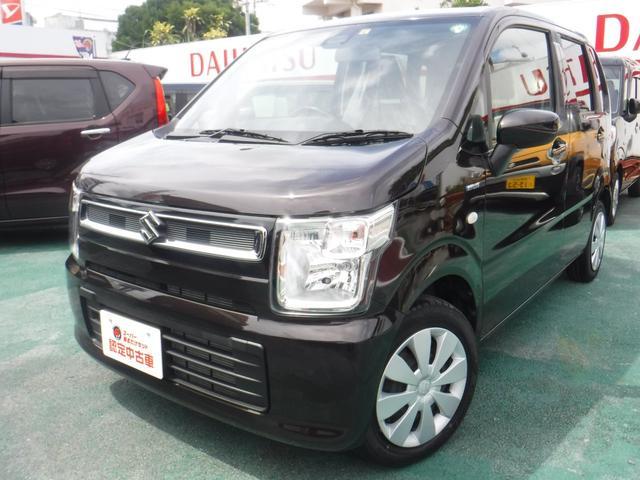 沖縄の中古車 スズキ ワゴンR 車両価格 115万円 リ済込 2020(令和2)年 0.8万km アーバンブラウンパールメタリック