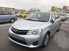 沖縄の中古車 トヨタ カローラフィールダー 車両価格 97.2万円 リ済別 平成24年 4.2万K シルバー