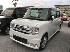 沖縄の中古車 トヨタ ピクシススペース 車両価格 102.6万円 リ済別 平成25年 7.2万K パールホワイト