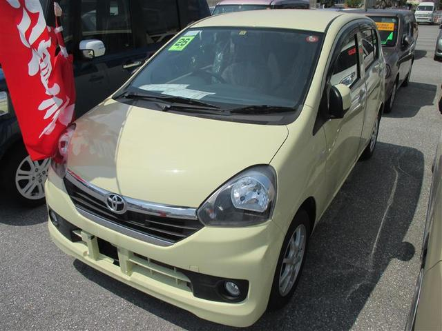 沖縄の中古車 トヨタ ピクシスエポック 車両価格 69万円 リ済別 平成26年 2.5万km イエロー