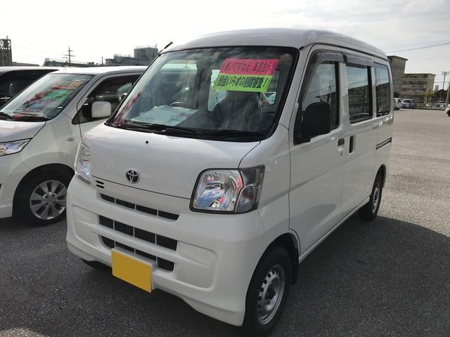 沖縄の中古車 トヨタ ピクシスバン 車両価格 64.8万円 リ済別 2013(平成25)年 1.4万km ホワイト