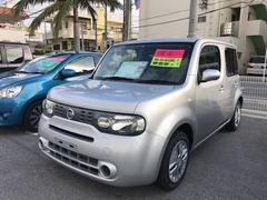 沖縄の中古車 日産 キューブ 車両価格 78.6万円 リ済別 平成25年 3.5万K シルバー
