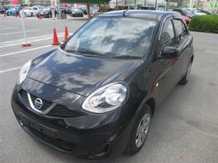 沖縄の中古車 日産 マーチ 車両価格 52万円 リ済別 平成26年 3.1万K ブラック