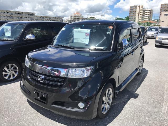 沖縄の中古車 トヨタ bB 車両価格 97.2万円 リ済別 2013(平成25)年 5.8万km ブラック