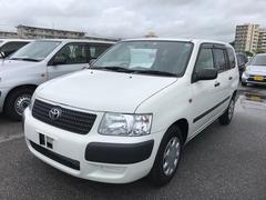 沖縄の中古車 トヨタ サクシードバン 車両価格 86.4万円 リ済別 平成25年 6.6万K ホワイト