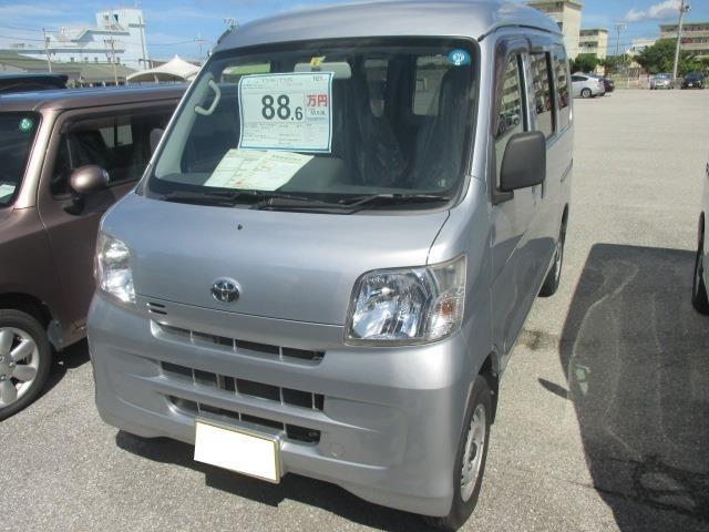 沖縄の中古車 トヨタ ピクシスバン 車両価格 88.6万円 リ済別 平成25年 4.6万km ブライトシルバーM