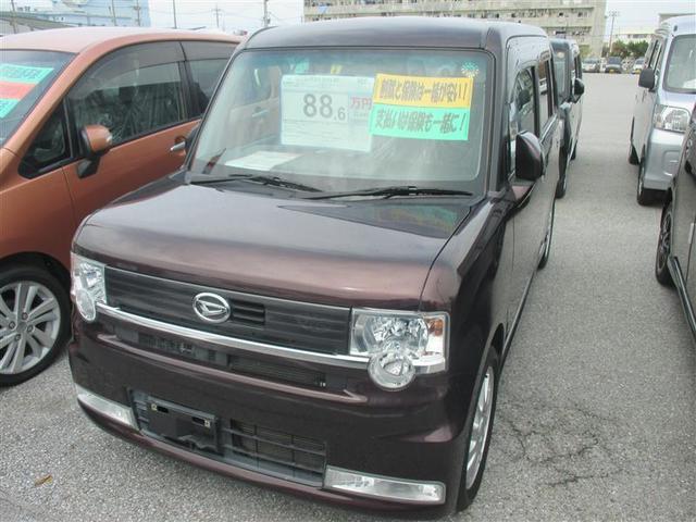 沖縄の中古車 ダイハツ ムーヴコンテ 車両価格 88.6万円 リ済別 2011(平成23)年 7.1万km ブラウン
