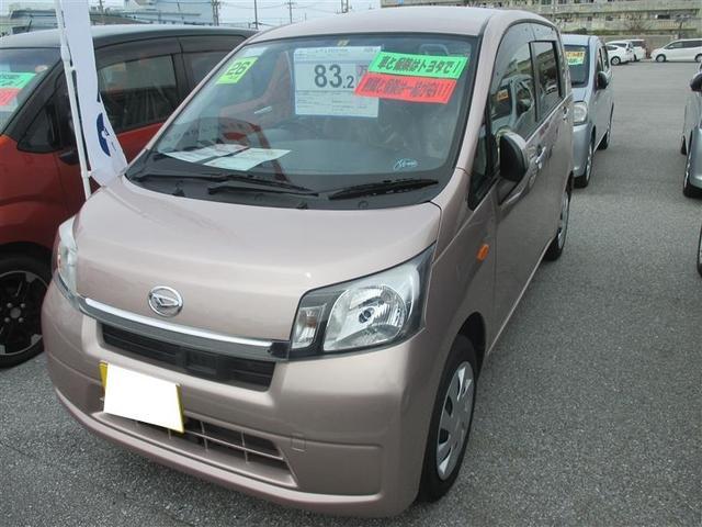 沖縄の中古車 ダイハツ ムーヴ 車両価格 83.2万円 リ済別 平成26年 3.9万km ピンク