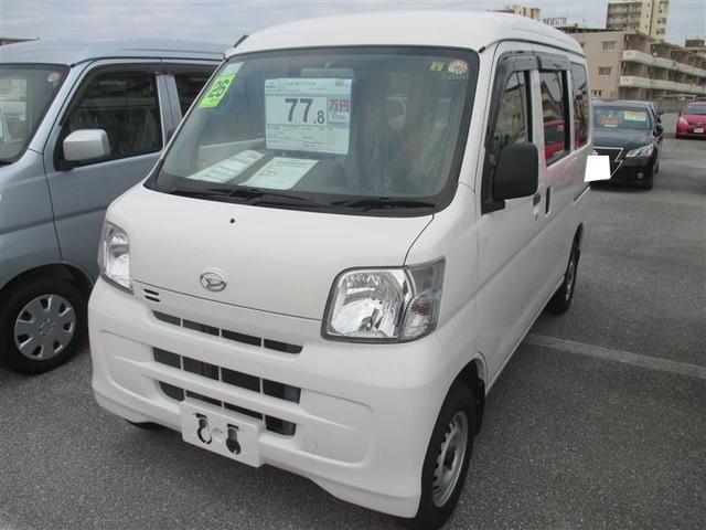 沖縄の中古車 ダイハツ ハイゼットカーゴ 車両価格 77.8万円 リ済別 平成26年 7.8万km ホワイト