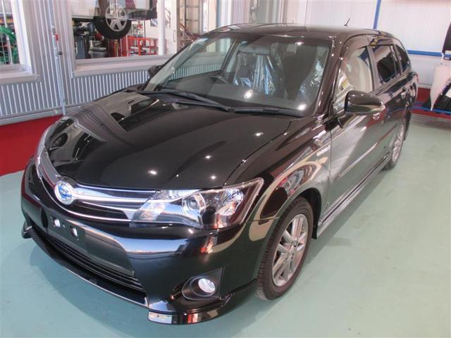 沖縄県の中古車ならカローラフィールダー ハイブリッドG エアロツアラー・ダブルバイビー