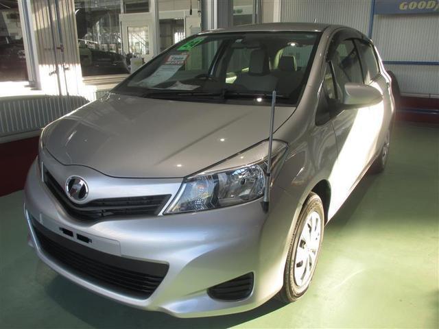 沖縄の中古車 トヨタ ヴィッツ 車両価格 77万円 リ済別 2012(平成24)年 1.0万km シルバーM