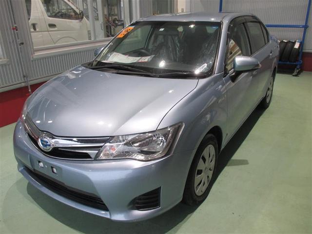 沖縄の中古車 トヨタ カローラアクシオ 車両価格 126.5万円 リ済別 2014(平成26)年 2.6万km ブルーM