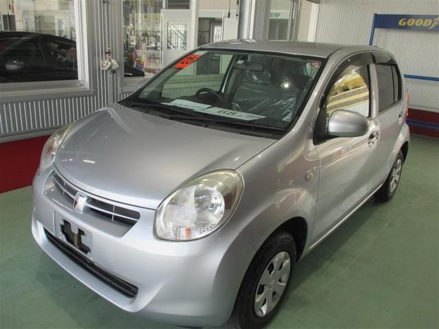 沖縄の中古車 トヨタ パッソ 車両価格 68.2万円 リ済別 2013(平成25)年 3.5万km ブライトシルバーM