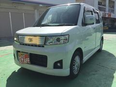 沖縄の中古車 スズキ ワゴンR 車両価格 33万円 リ済込 平成19年 9.2万K パールホワイト