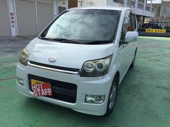 沖縄の中古車 ダイハツ ムーヴ 車両価格 32万円 リ済込 平成18年 8.7万K パールホワイト