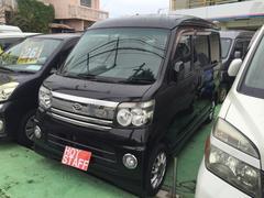 沖縄の中古車 ダイハツ アトレーワゴン 車両価格 39万円 リ済込 平成19年 10.6万K ブラックM