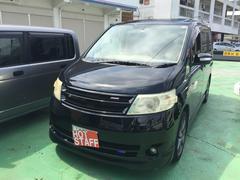 沖縄の中古車 日産 セレナ 車両価格 27万円 リ済込 平成18年 8.6万K ブラック