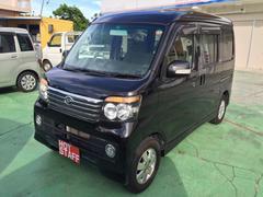 沖縄の中古車 ダイハツ アトレーワゴン 車両価格 53万円 リ済込 平成23年 9.9万K ブラックM