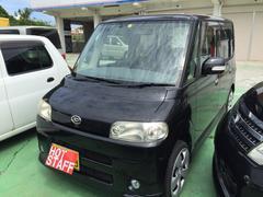 沖縄の中古車 ダイハツ タント 車両価格 25万円 リ済込 平成19年 11.1万K ブラックM
