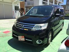 沖縄の中古車 日産 セレナ 車両価格 48万円 リ済込 平成21年 8.9万K ブラック