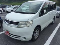 沖縄の中古車 日産 セレナ 車両価格 26万円 リ済込 平成18年 12.0万K パールホワイト