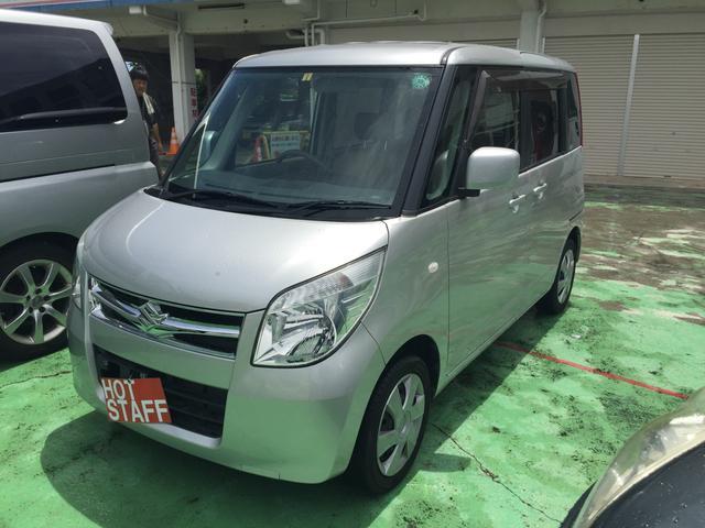 沖縄の中古車 スズキ パレット 車両価格 52万円 リ済込 平成23年 6.4万km シルバーM