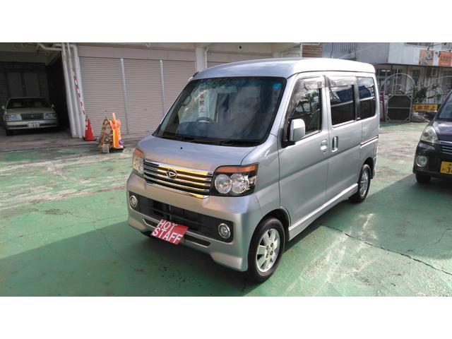 沖縄の中古車 ダイハツ アトレーワゴン 車両価格 44万円 リ済込 平成20年 11.8万km シルバーM