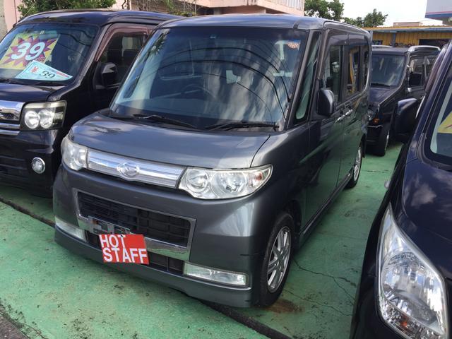 沖縄の中古車 ダイハツ タント 車両価格 43万円 リ済込 平成22年 10.1万km グレーM
