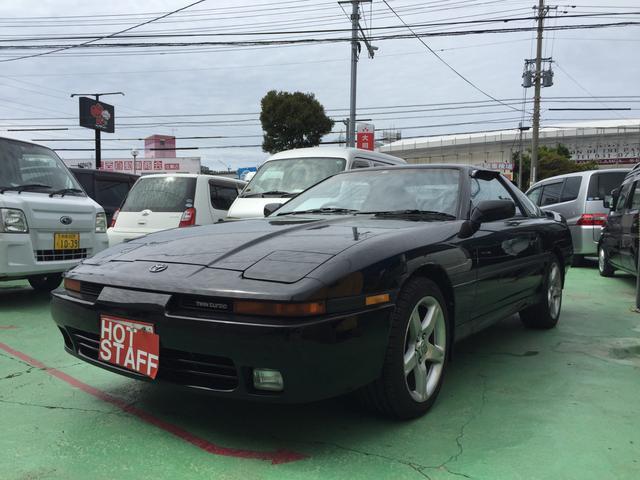 沖縄の中古車 トヨタ スープラ 車両価格 108万円 リ済込 1992(平成4)年 13.5万km ブラック