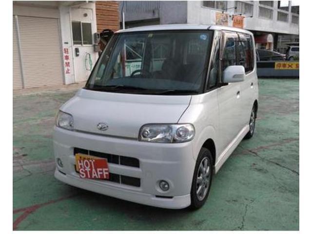 沖縄の中古車 ダイハツ タント 車両価格 25万円 リ済込 平成19年 9.5万km パール
