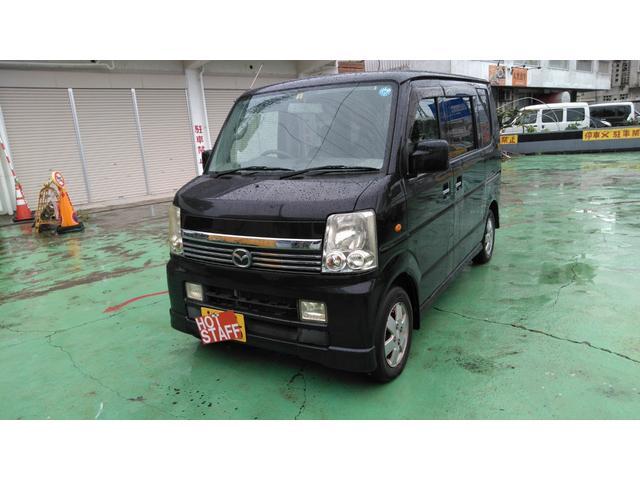 沖縄の中古車 マツダ スクラムワゴン 車両価格 38万円 リ済込 2007(平成19)年 10.5万km ブラックM