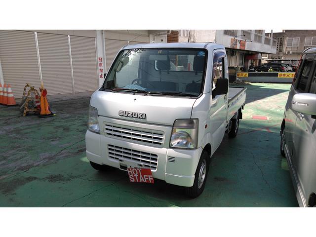 沖縄の中古車 スズキ キャリイトラック 車両価格 23万円 リ済込 2004(平成16)年 12.4万km ホワイト