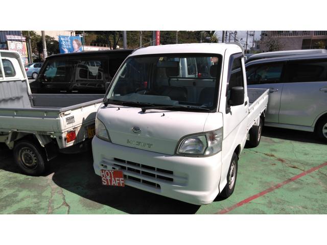 沖縄の中古車 ダイハツ ハイゼットトラック 車両価格 26万円 リ済込 2005(平成17)年 16.0万km ホワイト