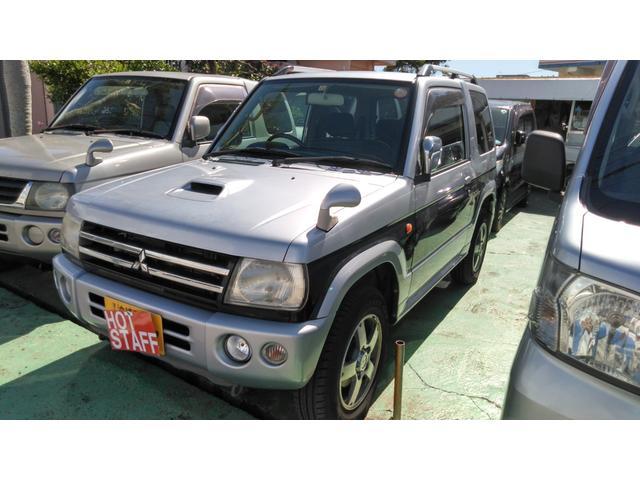 沖縄の中古車 三菱 パジェロミニ 車両価格 48万円 リ済込 2008(平成20)年 2.7万km シルバーII