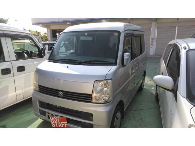 沖縄の中古車 スズキ エブリイワゴン 車両価格 28万円 リ済込 2006(平成18)年 10.4万km シルバー