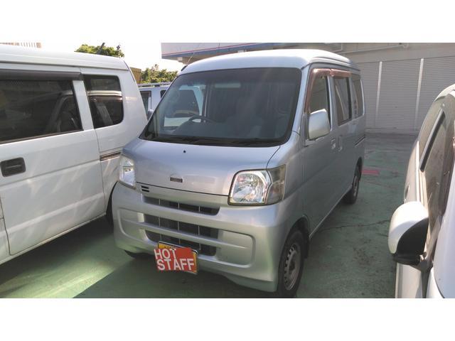 沖縄の中古車 ダイハツ ハイゼットカーゴ 車両価格 23万円 リ済込 2008(平成20)年 15.8万km シルバー