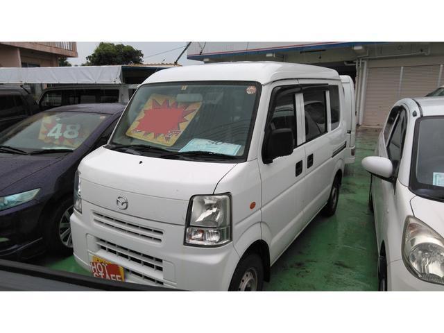 沖縄の中古車 マツダ スクラム 車両価格 23万円 リ済込 2007(平成19)年 12.8万km ホワイト