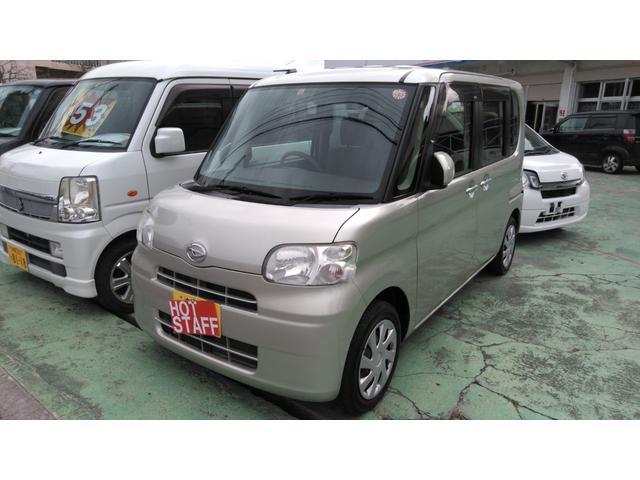 沖縄の中古車 ダイハツ タント 車両価格 40万円 リ済込 2012(平成24)年 10.3万km ゴールドM