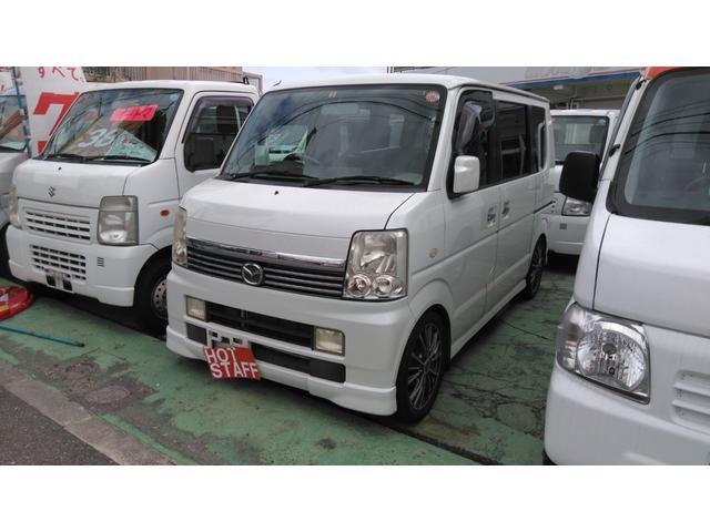 沖縄の中古車 マツダ スクラムワゴン 車両価格 39万円 リ済込 2007(平成19)年 8.1万km パールM
