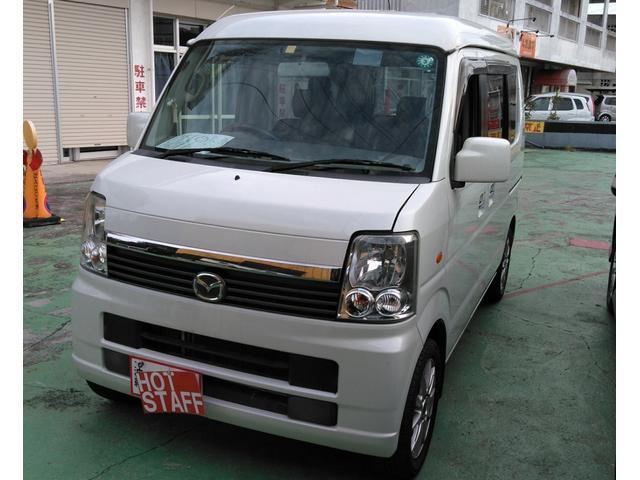 沖縄の中古車 マツダ スクラムワゴン 車両価格 38万円 リ済込 2008(平成20)年 12.2万km パールホワイト