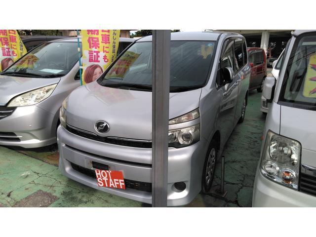 沖縄の中古車 トヨタ ヴォクシー 車両価格 55万円 リ済込 2011(平成23)年 6.6万km シルバーM