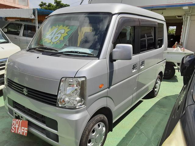 沖縄の中古車 スズキ エブリイワゴン 車両価格 39万円 リ済込 2009(平成21)年 8.8万km シルバー