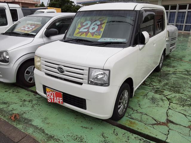 沖縄の中古車 ダイハツ ムーヴコンテ 車両価格 22万円 リ済込 2009(平成21)年 10.3万km パールホワイト