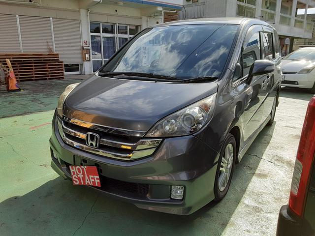 沖縄の中古車 ホンダ ステップワゴン 車両価格 38万円 リ済込 2008(平成20)年 9.8万km ガンM