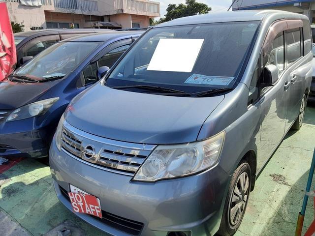 沖縄の中古車 日産 セレナ 車両価格 38万円 リ済込 2009(平成21)年 8.5万km グレーM