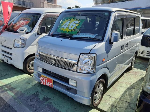 沖縄県沖縄市の中古車ならエブリイワゴン JPターボ